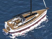 Najad 395 AC & CC – Novità 2018 – Un vero Mini Superyacht – Presente a Dusseldorf dal 20 al 28 Gennaio