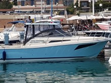 "Tuccoli ""Fishing and Cruising Boats"" – Tuccoli T 280 Fisherman & Open con motori fuoribordo."